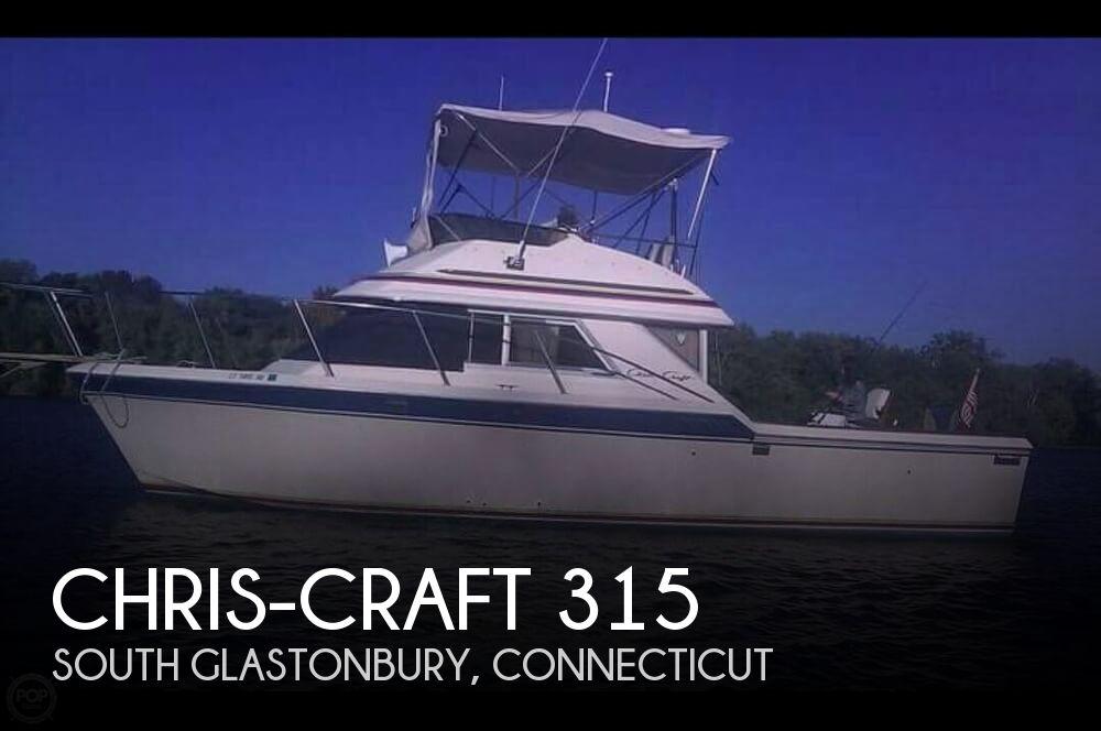 1984 CHRIS CRAFT 315 COMMANDER SPORT FISH for sale