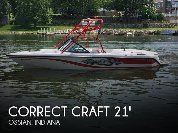 Used Boats For Sale in Fort Wayne, Indiana by owner | 2003 Correct Craft 21