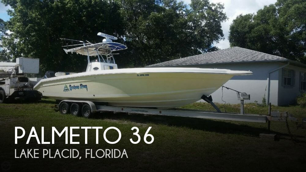 Used Palmetto Boats For Sale by owner | 2001 Palmetto 36