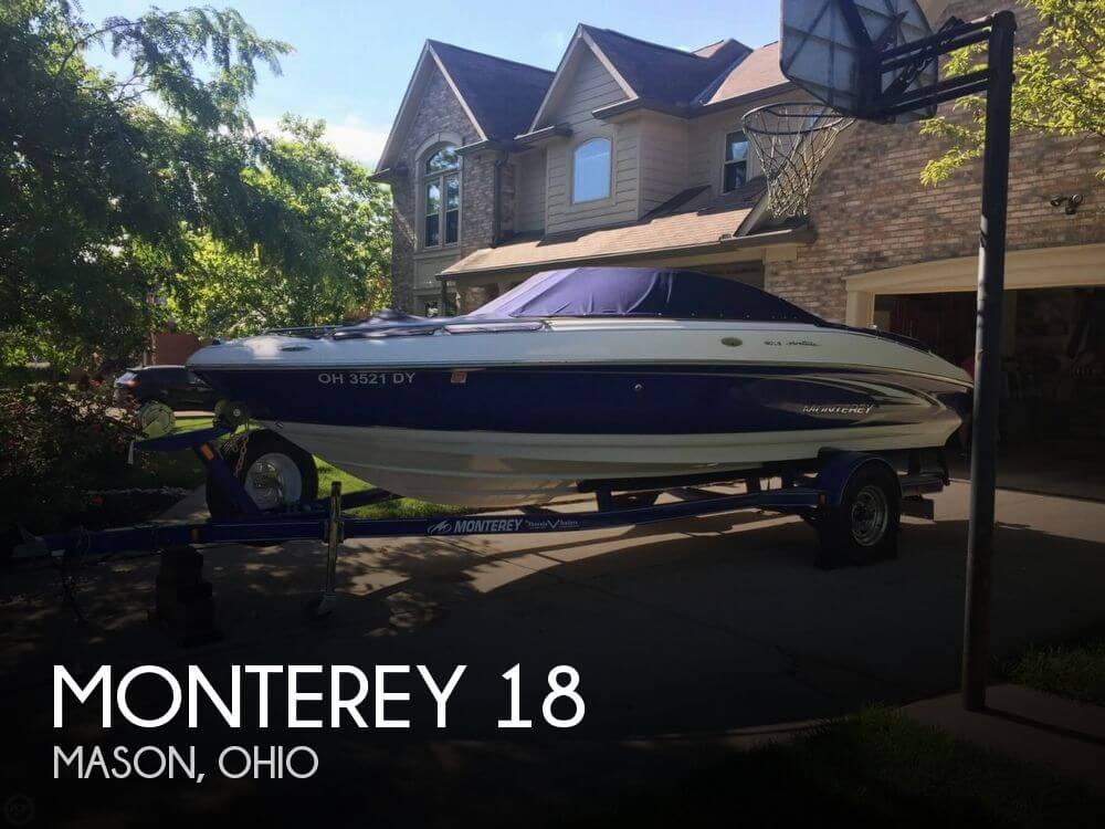 Used Boats For Sale by owner | 2005 Monterey 18
