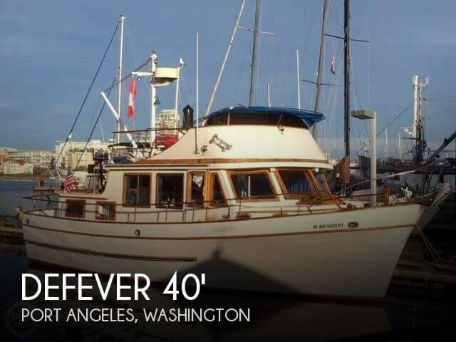 1976 DEFEVER 40 PASSAGEMAKER for sale