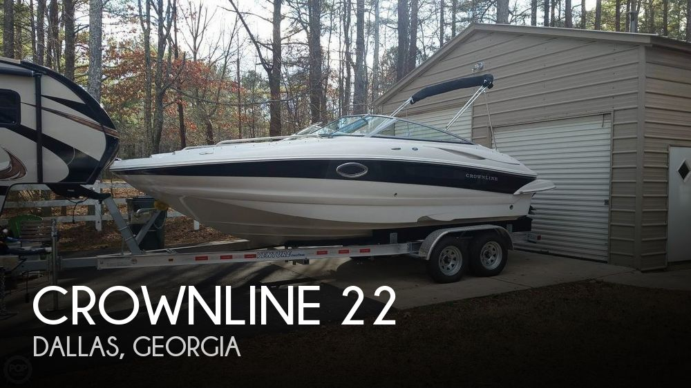Used Crownline Deck Boats For Sale by owner | 2006 Crownline 22
