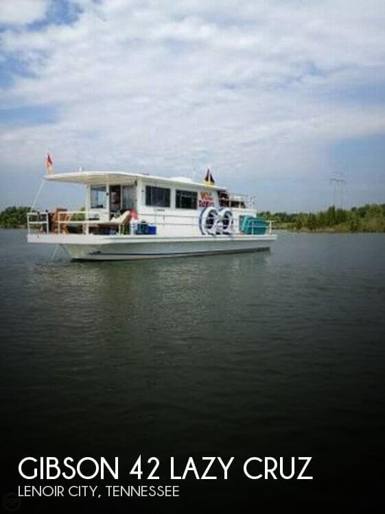 Used Houseboats For Sale in Tennessee by owner | 1982 Gibson 42