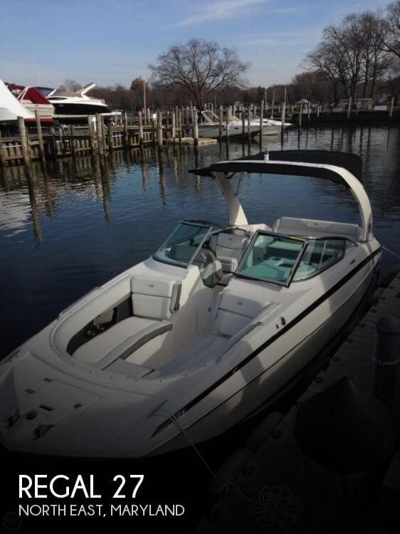 Used Deck Boats For Sale by owner | 2014 Regal 27