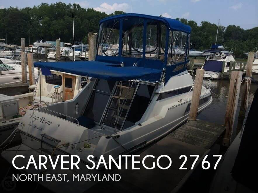 Used Carver Boats For Sale in Maryland by owner | 1989 Carver 27