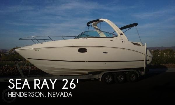 Used Boats For Sale in Nevada by owner | 2011 Sea Ray 26