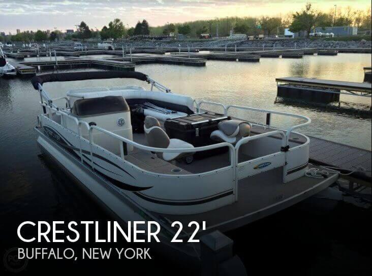 Used Crest Pontoon Boats For Sale by owner | 2007 Crestliner 20