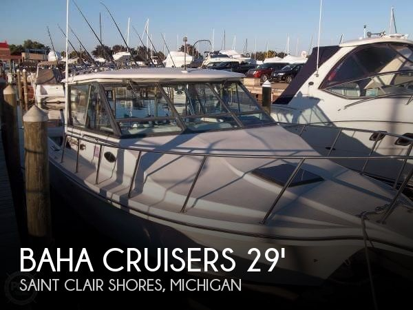 Used Fishing boats For Sale in Michigan by owner | 1992 Baha Cruisers 29