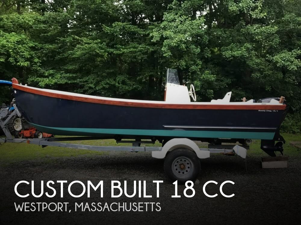 2007 Custom boat for sale, model of the boat is 18 CC & Image # 1 of 41