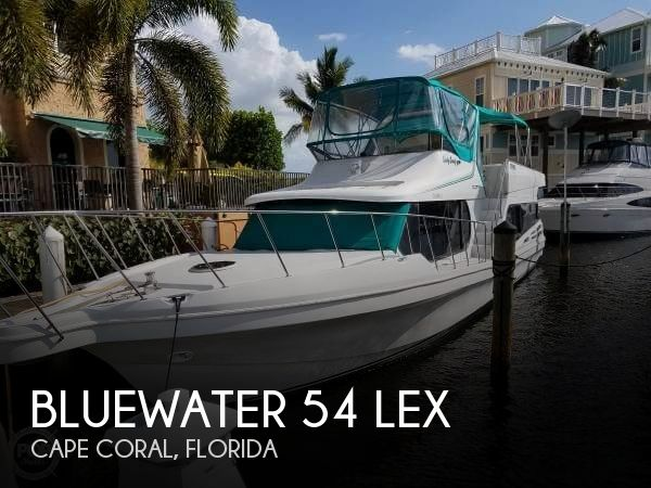 Used Boats For Sale in Naples, Florida by owner | 1996 Blue Water Boats 54
