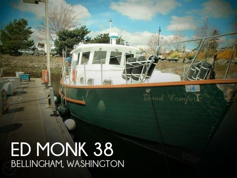Used Power boats For Sale in Washington by owner | 1985 Ed Monk 38