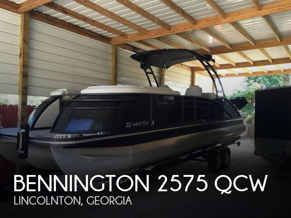 Used Pontoon Boats For Sale by owner   2014 Bennington 25