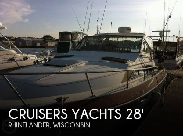 Used Boats For Sale in Wausau, Wisconsin by owner | 1986 Cruisers Yachts 28