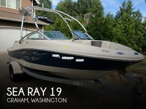 Used Sea Ray Boats For Sale in Washington by owner | 2006 Sea Ray 19