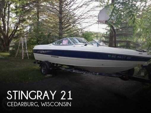 Used Boats For Sale by owner | 2006 Stingray 21