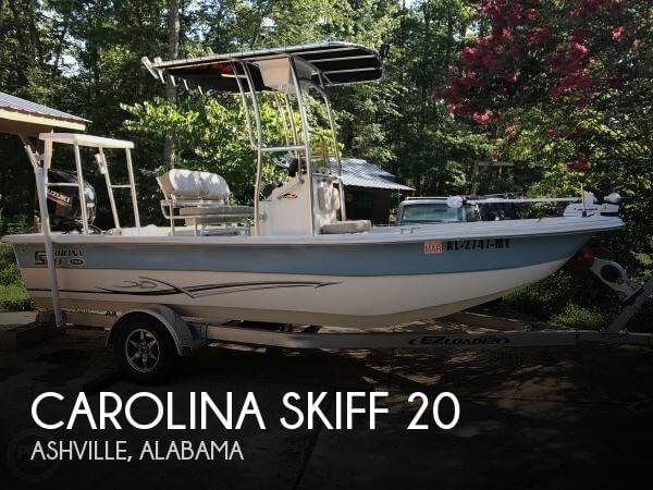 Used Carolina Skiff Boats For Sale by owner   2015 Carolina Skiff 20