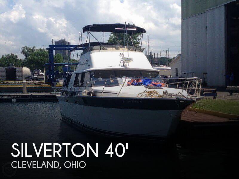 Used Motoryachts For Sale in Ohio by owner | 1984 Silverton 40