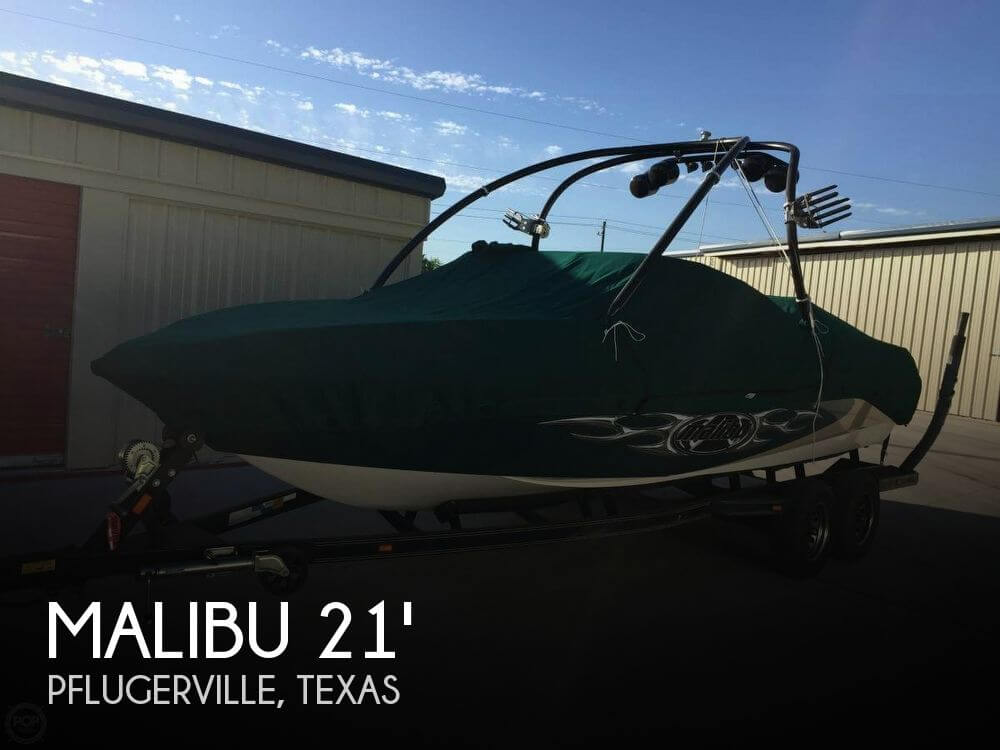 Used MALIBU Boats For Sale in Texas by owner | 2005 Malibu 21