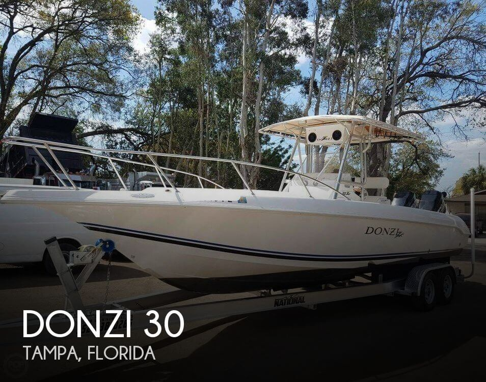 Used DONZI Boats For Sale by owner   1999 Donzi 30
