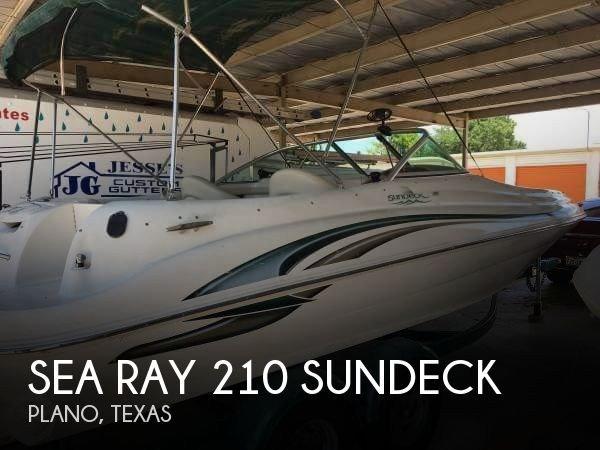 Used Deck Boats For Sale in Texas by owner | 2001 Sea Ray 210 Sundeck