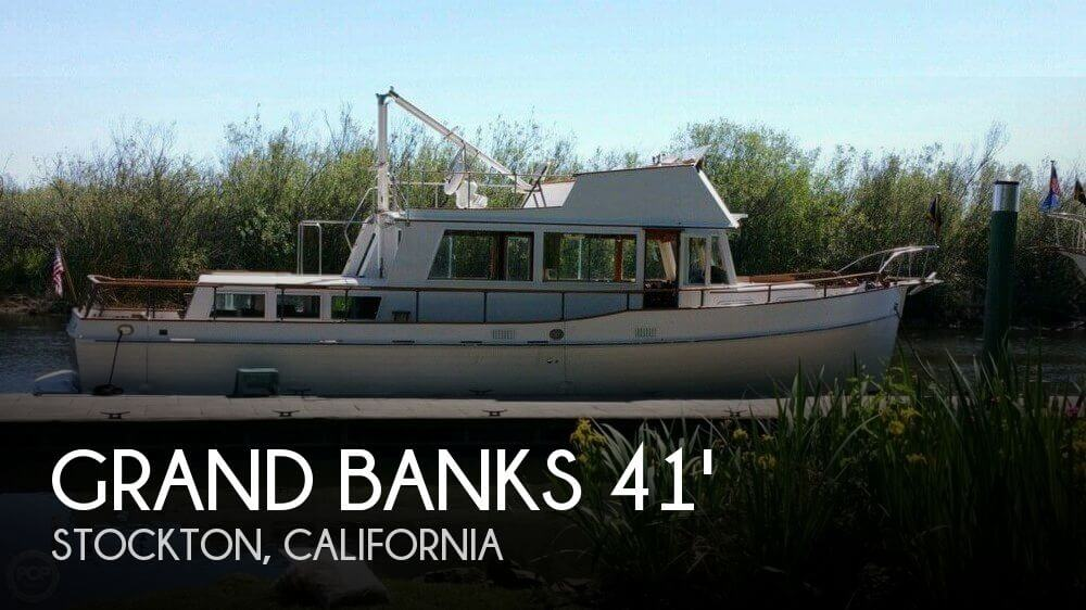 Used Boats For Sale in Merced, California by owner | 1969 Grand Banks 41