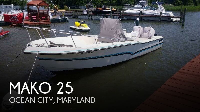 Used MAKO Boats For Sale by owner | 1984 Mako 25