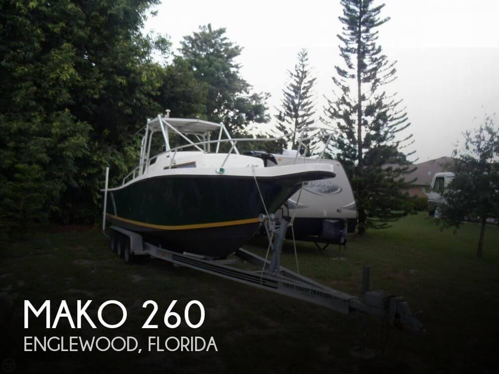 1989 Mako 260