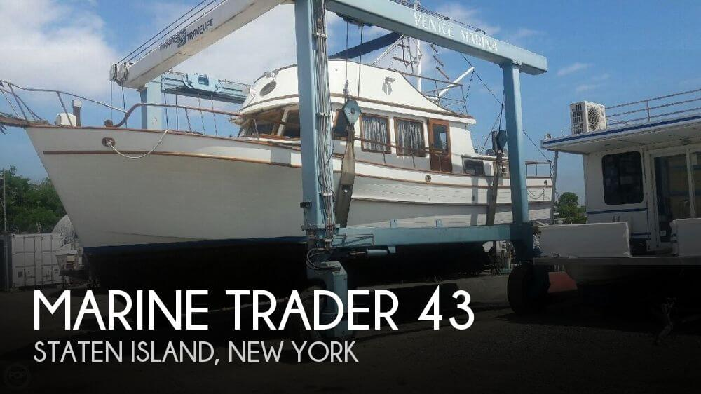 Used Marine Trader Boats For Sale by owner | 1978 Marine Trader 43