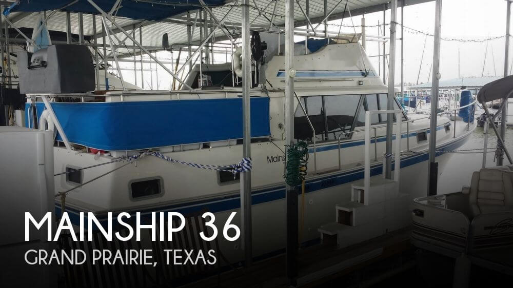 Used Mainship Boats For Sale by owner | 1985 Mainship 36