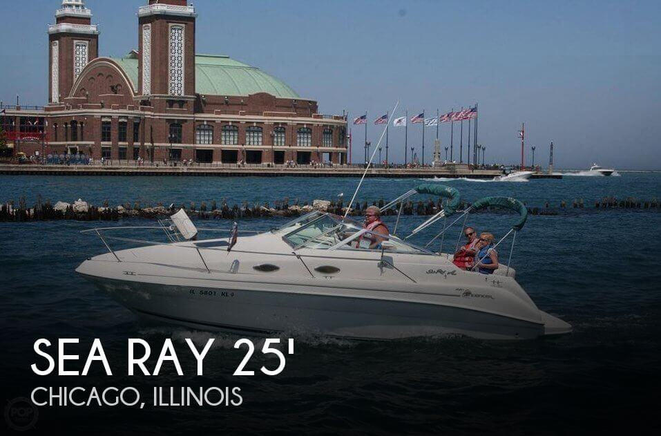 Used Sea Ray Boats For Sale in Illinois by owner | 1998 Sea Ray 25