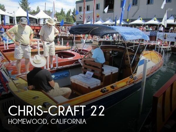 Used Boats For Sale in Reno, Nevada by owner | 1964 Chris-Craft 22