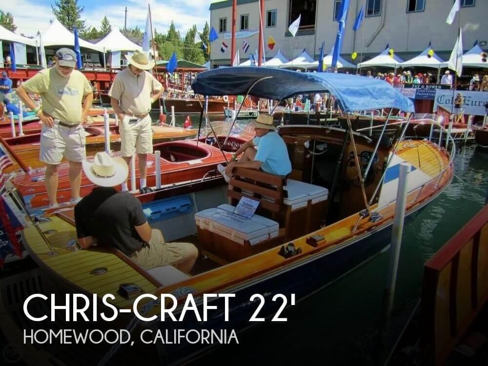 Sold chris craft 22 cutlass boat in homewood ca 133504 solutioingenieria Choice Image