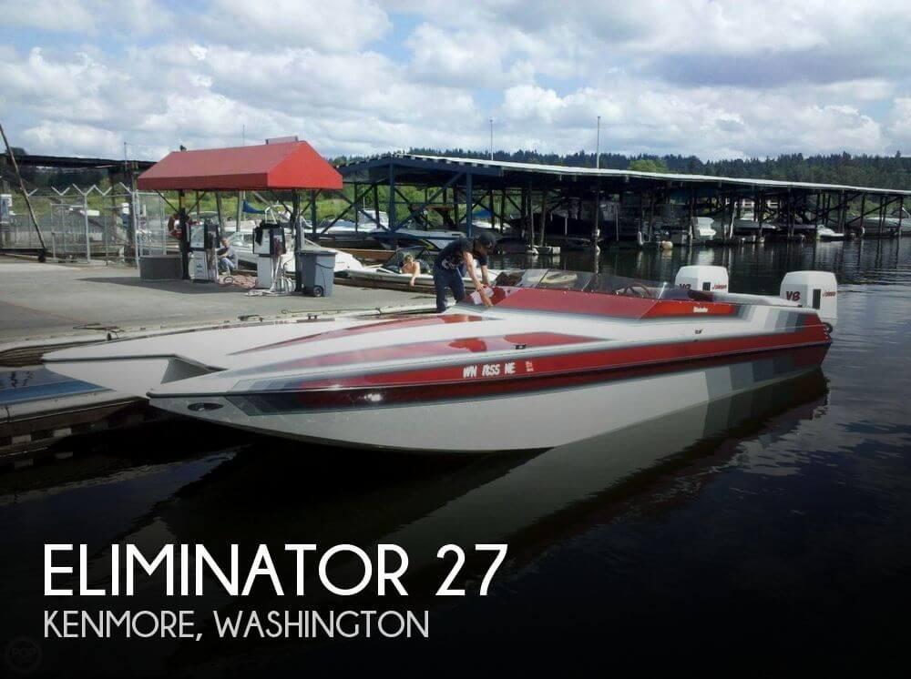 Used ELIMINATOR Boats For Sale by owner | 1988 Eliminator 27