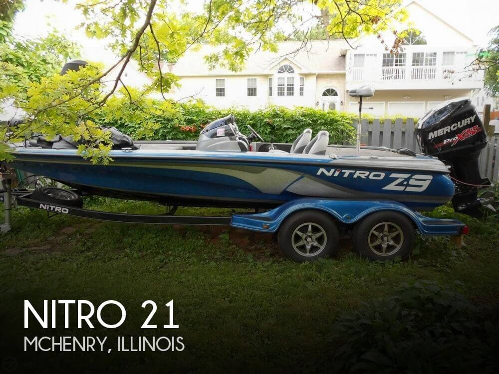 Used Boats For Sale in Rockford, Illinois by owner | 2014 Nitro 21
