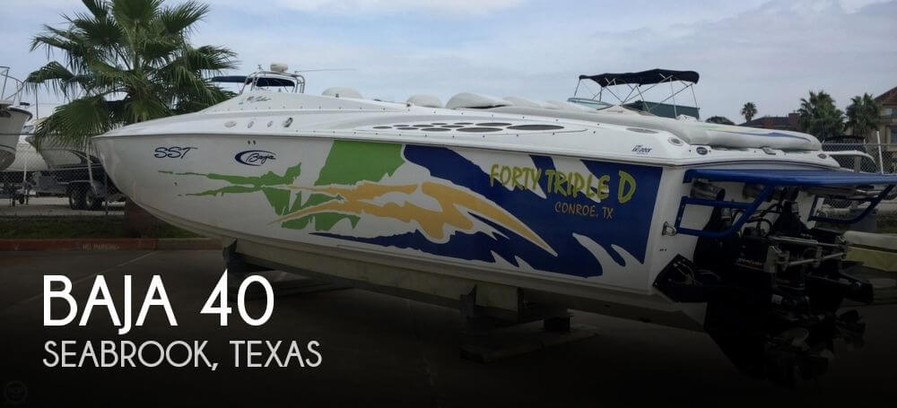 Used Boats For Sale in Houston, Texas by owner | 2003 Baja 40