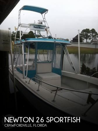 Used Boats For Sale in Tallahassee, Florida by owner | 1994 Newton 26
