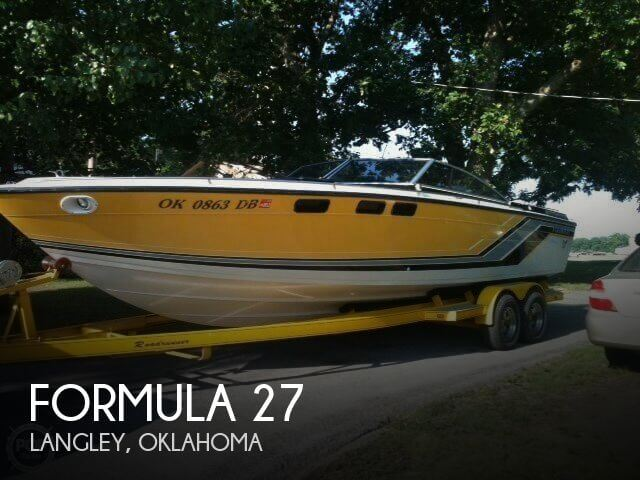 Used Boats For Sale in Tulsa, Oklahoma by owner | 1986 Formula 27