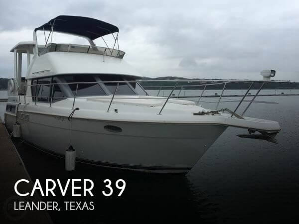 Used Boats For Sale in Austin, Texas by owner | 1996 Carver 39