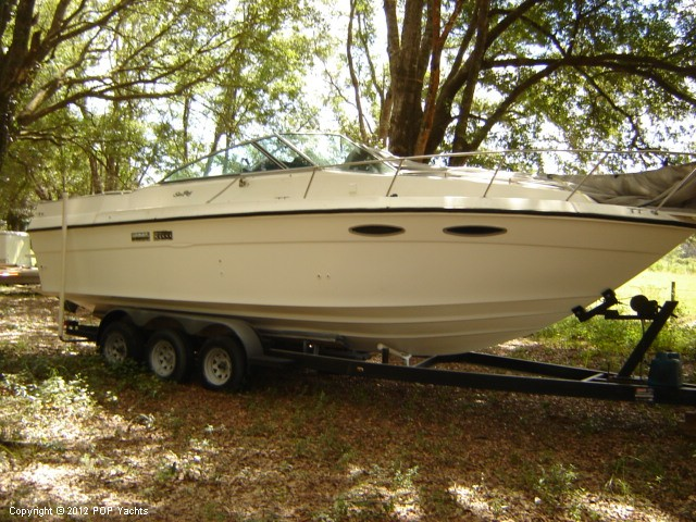 1989 Sea Ray boat for sale, model of the boat is 270 Amberjack & Image # 10 of 41