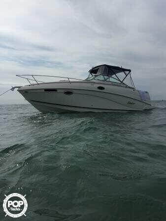 2006 Rinker boat for sale, model of the boat is 250 Fiesta Vee & Image # 2 of 12