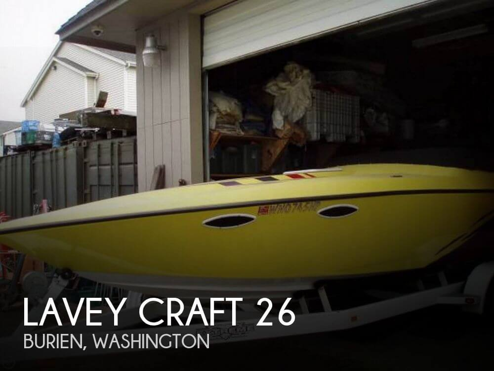 Used High Performance Boats For Sale in Washington by owner | 2001 Lavey Craft 26