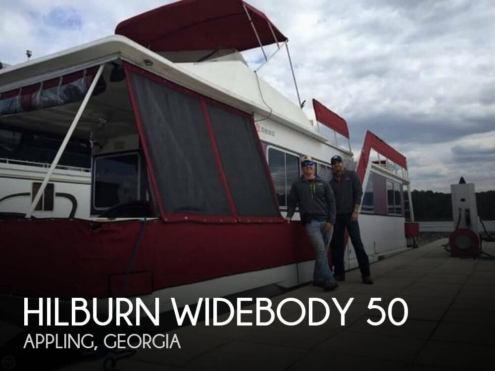 Used Houseboats For Sale in Georgia by owner | 1986 Hilburn 50
