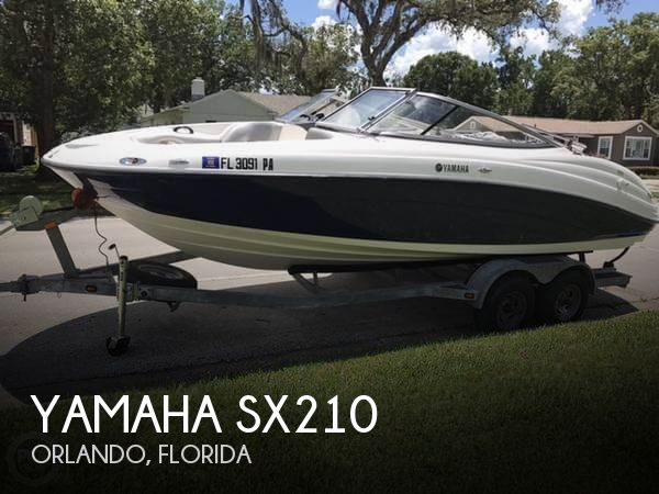 Yamaha SX210 boat for sale in Orlando, FL for $27,500 | 133725