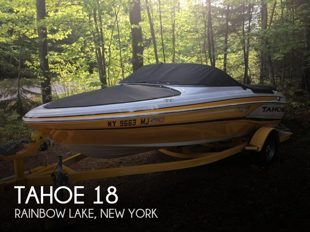 Used Boats For Sale in Burlington, Vermont by owner | 2013 Tahoe 18