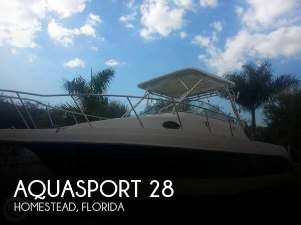 Used Aquasport Boats For Sale by owner | 2004 Aquasport 28