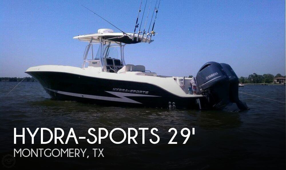 Used Boats For Sale in Houston, Texas by owner | 2011 Hydra-Sports 29