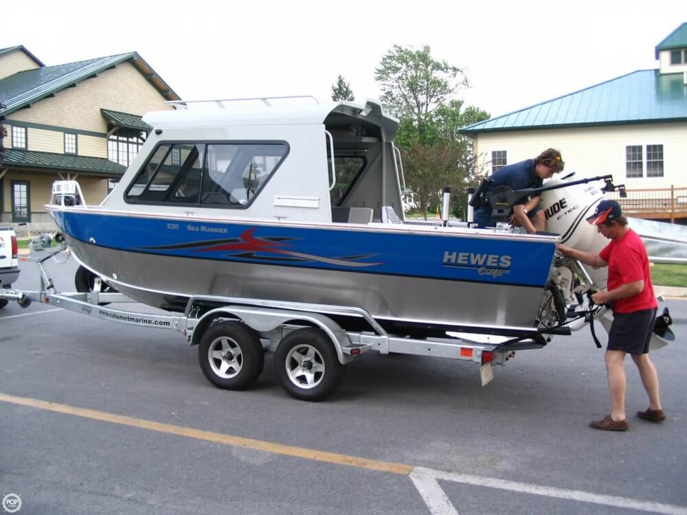 2008 Hewes 220 Sea Runner For Sale