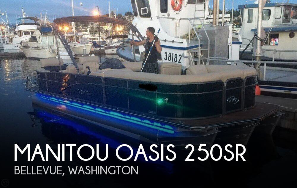 Used Pontoon Boats For Sale by owner | 2016 Manitou 25