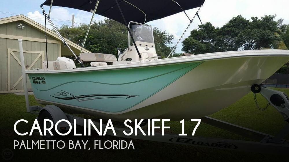 2014 Carolina Skiff 17 - image 1