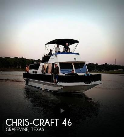 Used Boats For Sale in Dallas, Texas by owner | 1984 Chris-Craft 50